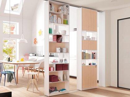 raumteiler schrankl sungen rafatsch k che bad in. Black Bedroom Furniture Sets. Home Design Ideas